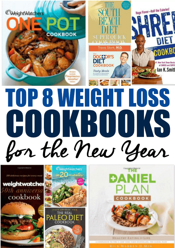 Amazon's Top 8 Weight Loss Cookbooks For The New Year