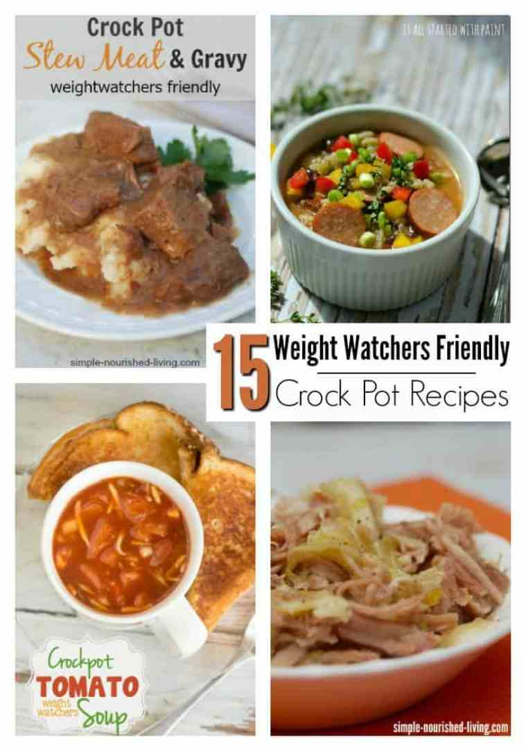 15 Easy Crock Pot Meals That Are Weight Watchers Friendly