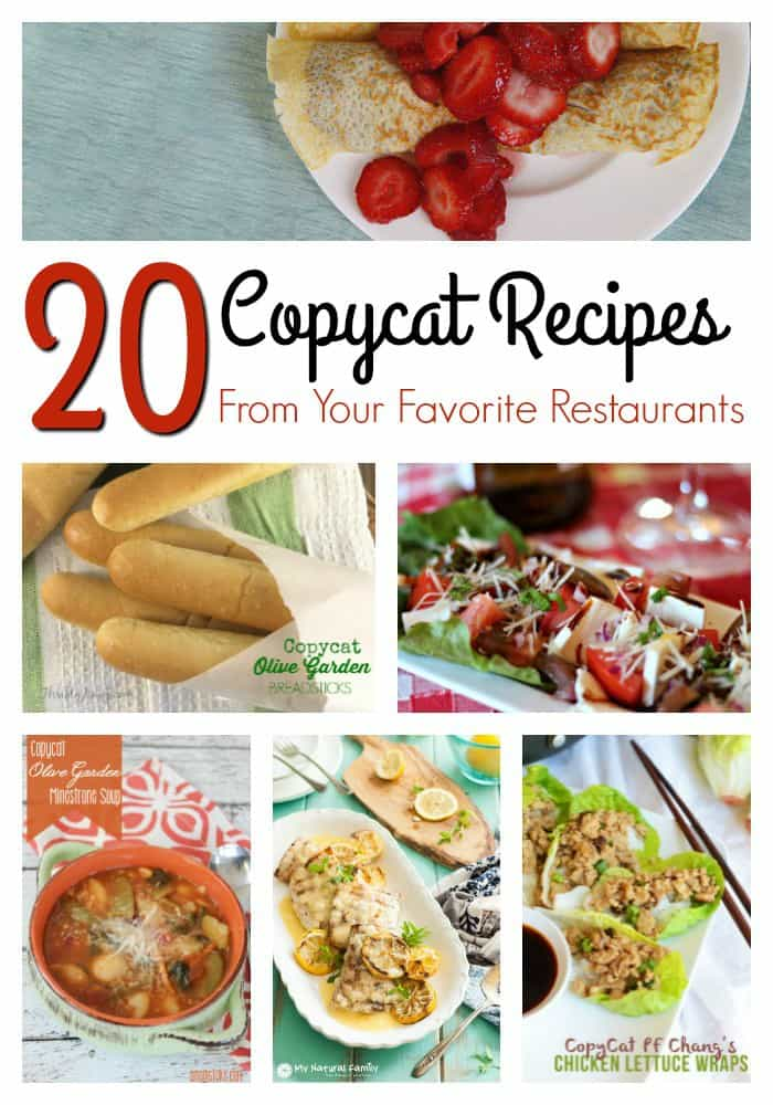20 Copycat Recipes