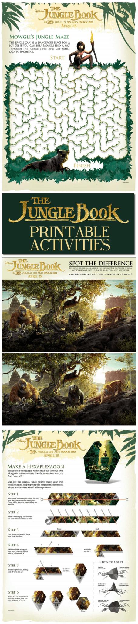 Jungle Book printable