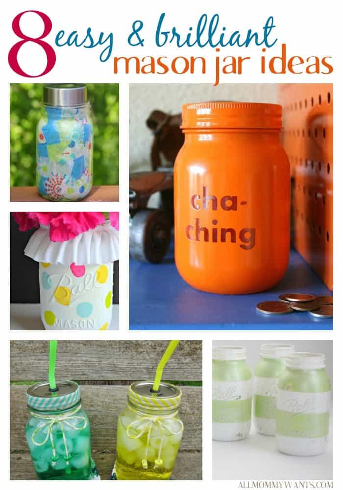 8 Mason Jar Crafts
