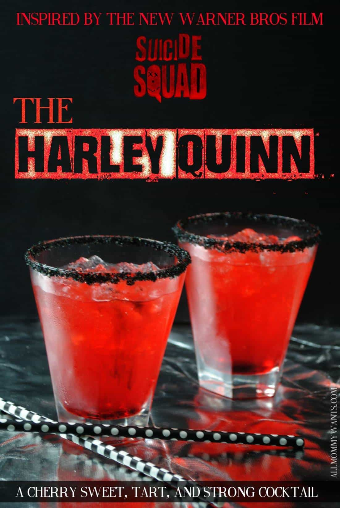 Harley Quinn cocktail 1