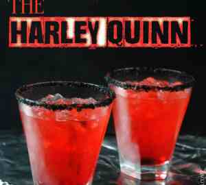 Harley Quinn cocktail 1