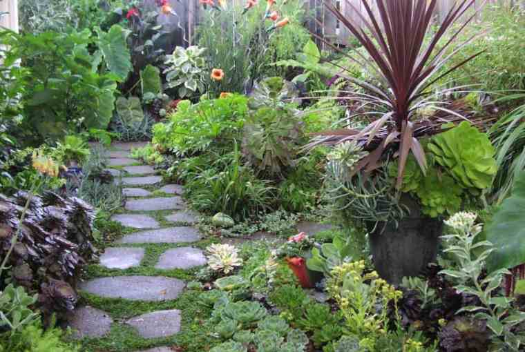 Home-Garden-with-Path-Walk-Steps