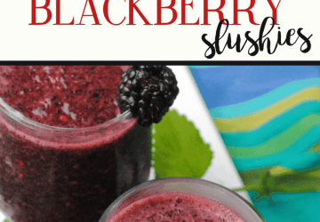 merlot blackberry slushies