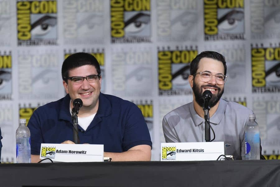 Adam Horowitz and Edward Kitsis (ABC/Todd Wawrychuk)