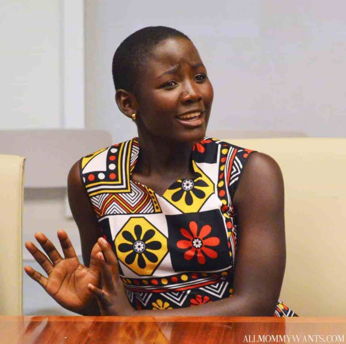 Madina Nalwanga of Queen of Katwe (Carol Jones/Allmommywants.com)