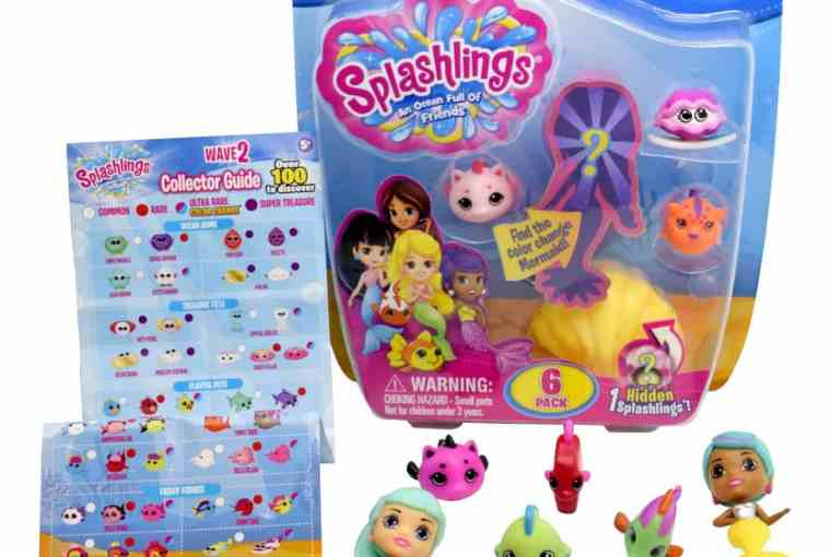 Splashlings W2 – 6 pack content