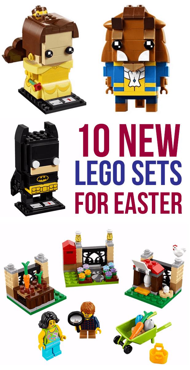 10 NEW LEGO Sets For Boys And Girls Easter Baskets - Beauty and the Beast, BrickHeadz, Batman! #KeepBuilding