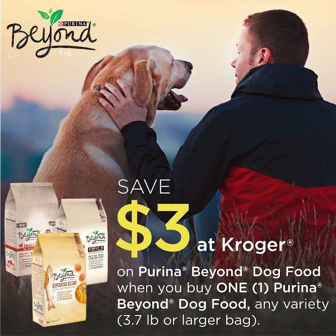 Save $3 on Purina® Beyond® Dog Food at Kroger