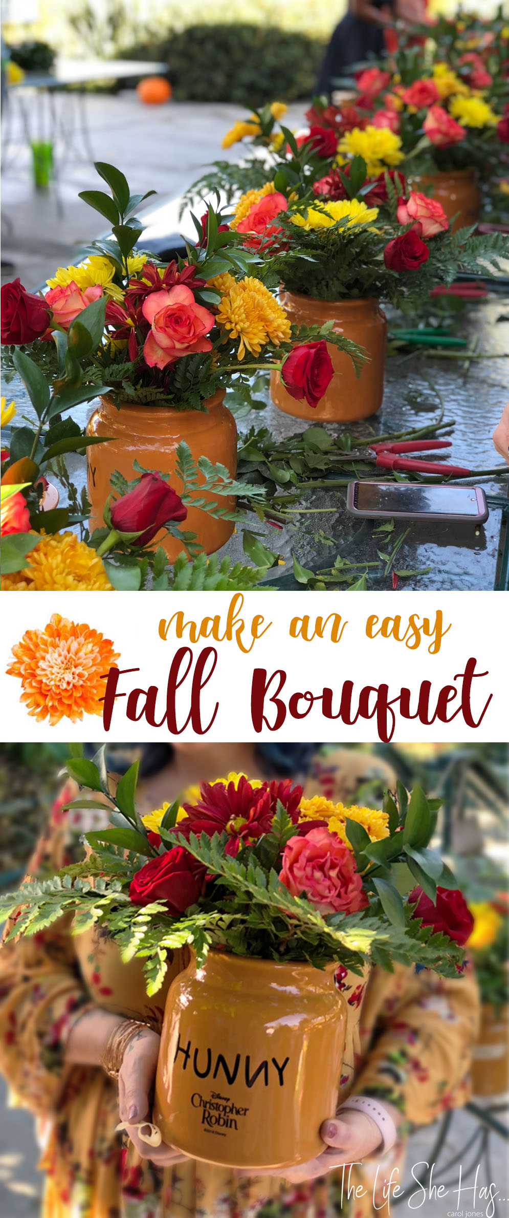 Easy Fall Bouquet Tutorial
