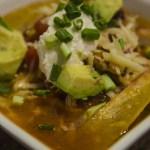 Easy Crock-pot Chicken Enchilada Soup