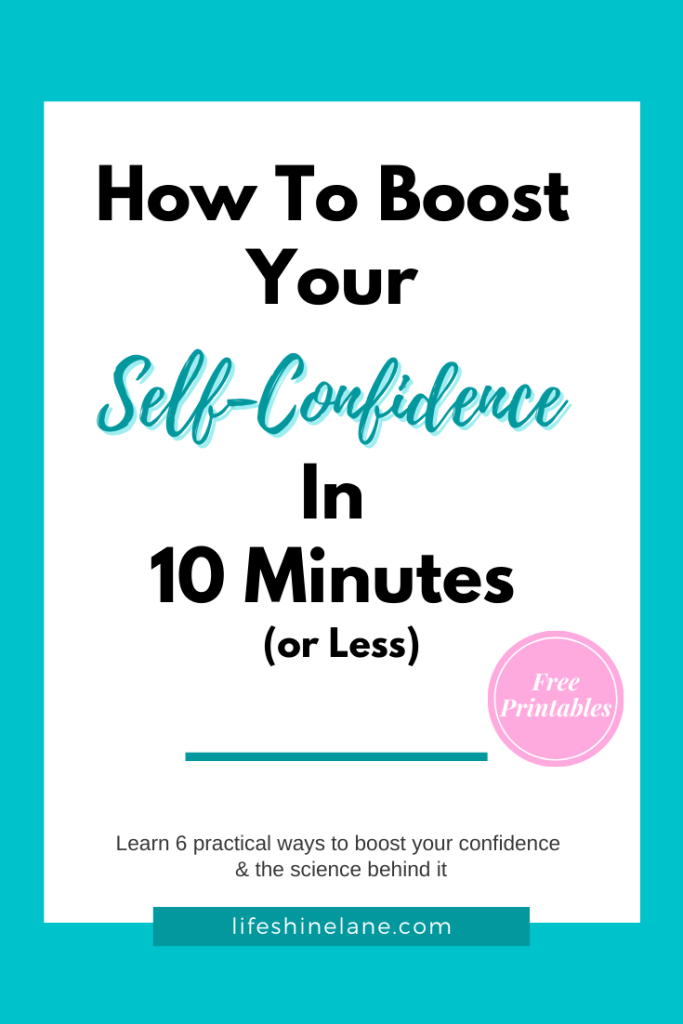 Confidence self to how improve How To