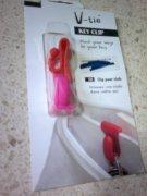 Key clip hook, see the original gap