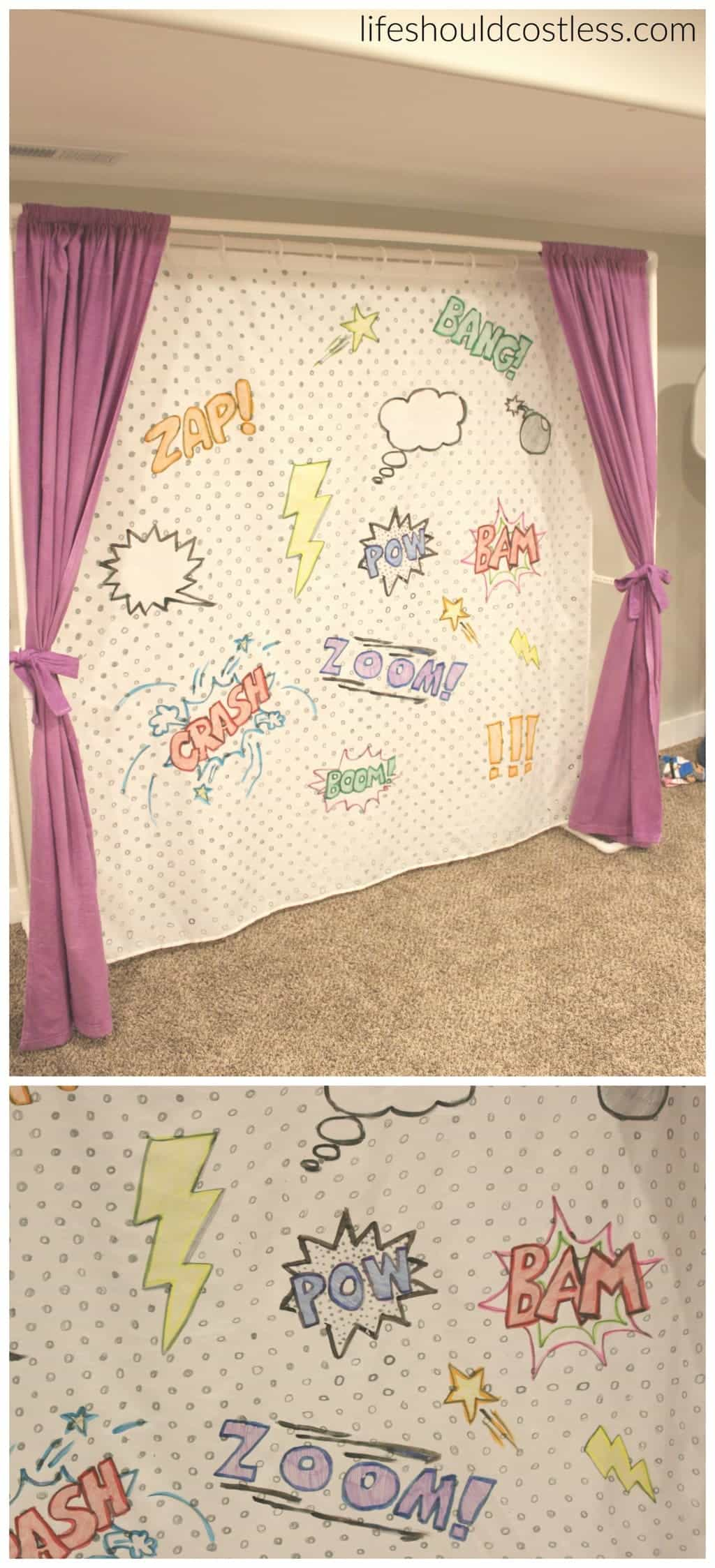 multi use pvc theater with washable