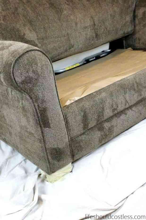 How To Scotchgard Sofa