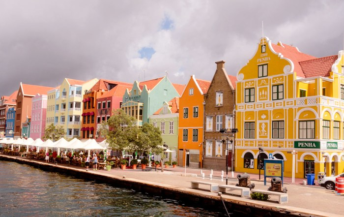 Colourful UNESCO World Heritage Site of Willemstad on the Caribbean Island of Curaçao. Photo Credit: Wendy Nordvik-Carr