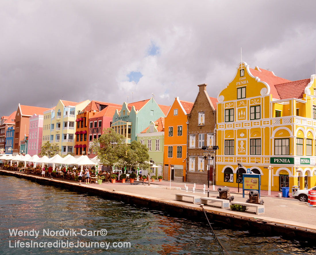 top things to do on Curaçao - Colourful UNESCO World Heritage Site of Willemstad on the Caribbean Island of Curaçao. Photo Credit: Wendy Nordvik-Carr