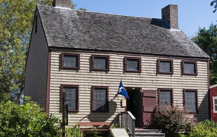 Learn about 18th century life with a visit to the Cossit House Museum in Sydney, Nova Scotia. The home is furnished with 18th century pieces and museum staff dressed in period costume demonstrate traditional skills like candle-making, lace-making and butter-churning. Photo Credit: Wendy Nordvik-Carr©