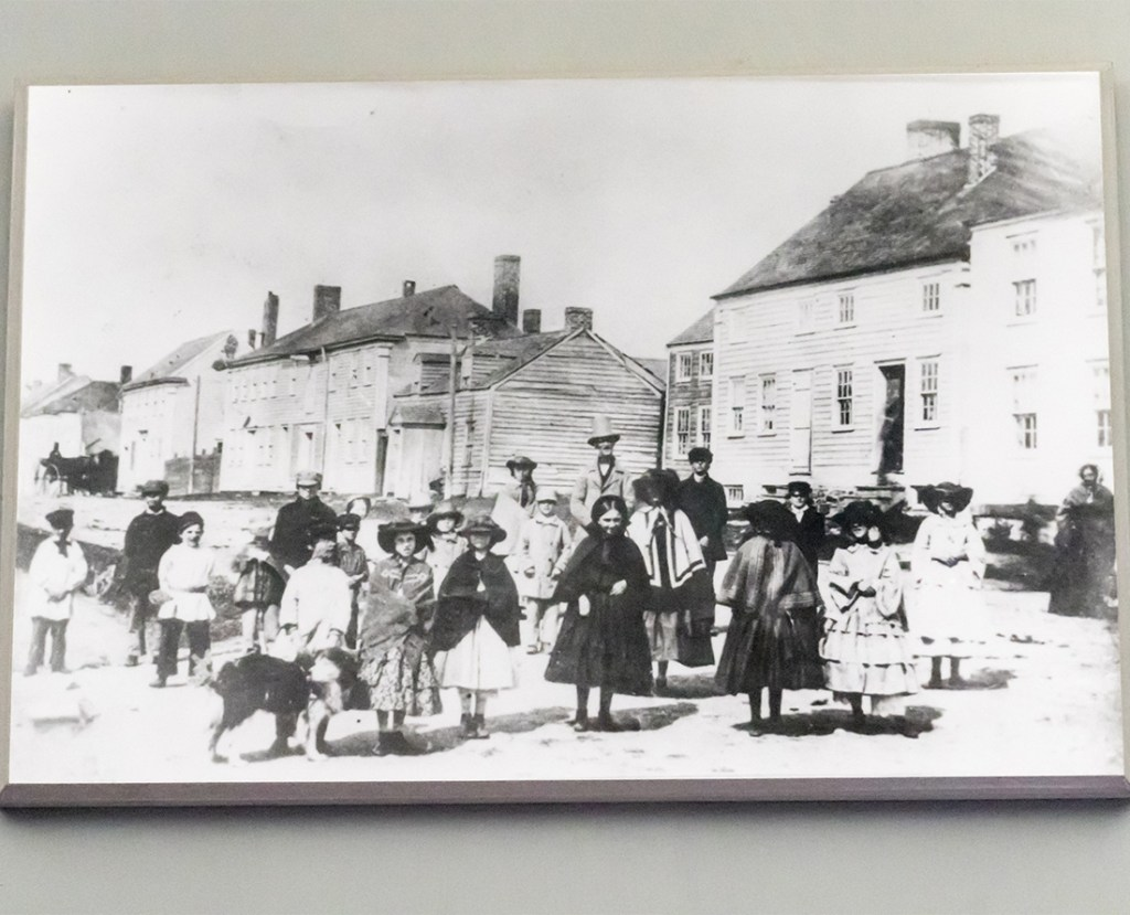 Cossit House Museum displays a photo taken of the Cossit family in Sydney, Nova Scotia.