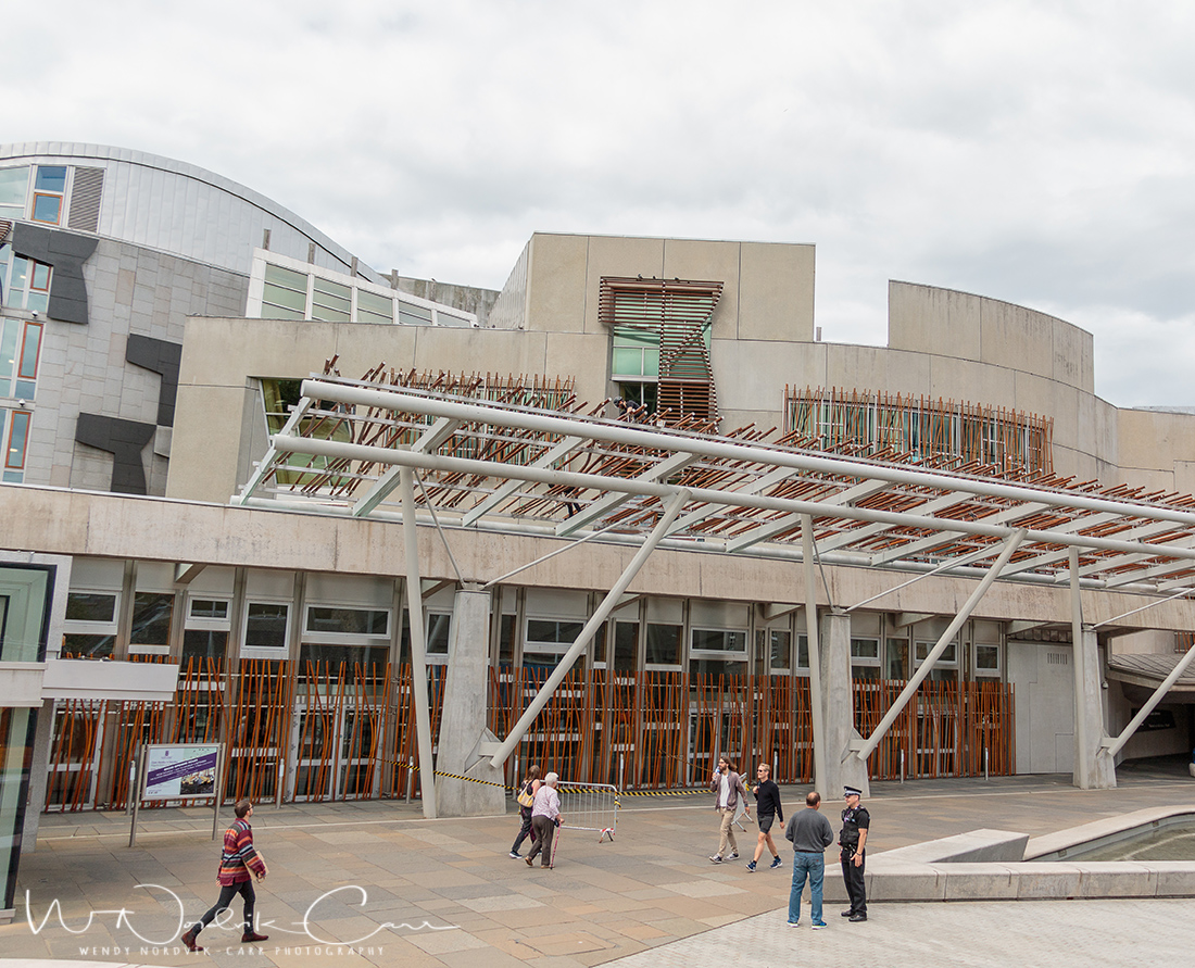 Visit the Scottish Parliament - Discover things to do in medieval Edinburgh. Explore Old Town and New Town along with the many museums, monument, memorials and galleries of this historic city. Photo Credit: Wendy Nordvik-Carr