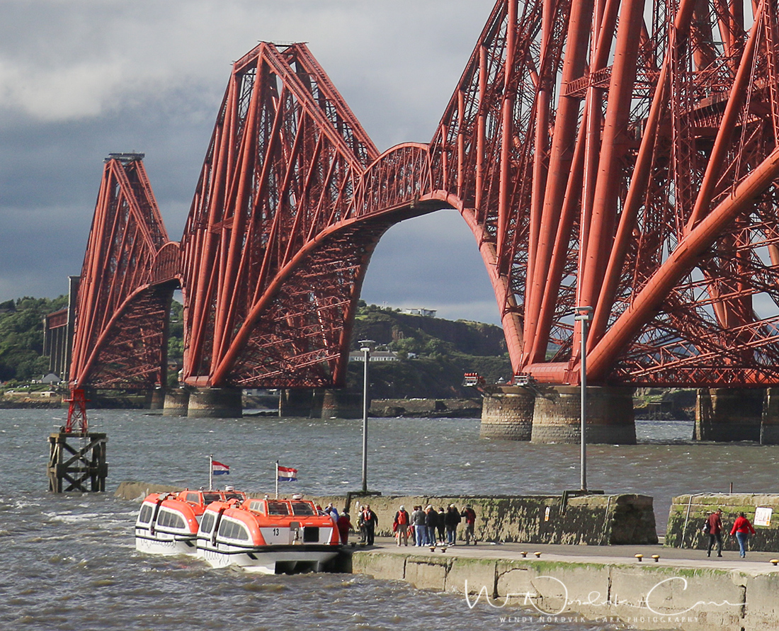 Cruise ships use tenders for South Queensferry port of call. Discover things to do in medieval Edinburgh. Explore Old Town and New Town along with the many museums, monument, memorials and galleries of this historic city. Photo Credit: Wendy Nordvik-Carr
