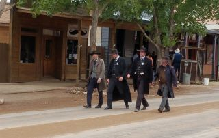 Top 5 things to do in Tombstone Arizona - Watch a gunfight on the street in Tombstone Arizona. Photo Courtesy of the Tombstone Chamber of Commerce.