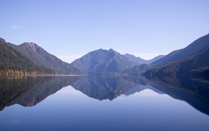 The reflective beauty of stunning Lake Crescent - Top 10 things to do in Olympic National Park