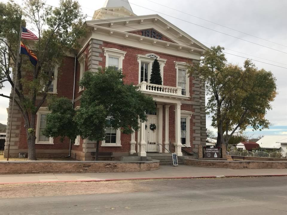 Explore the Wyatt Earp collection at the Tombstone Courthouse State Historic Park. Photo Courtesy of the Arizona State Parks.