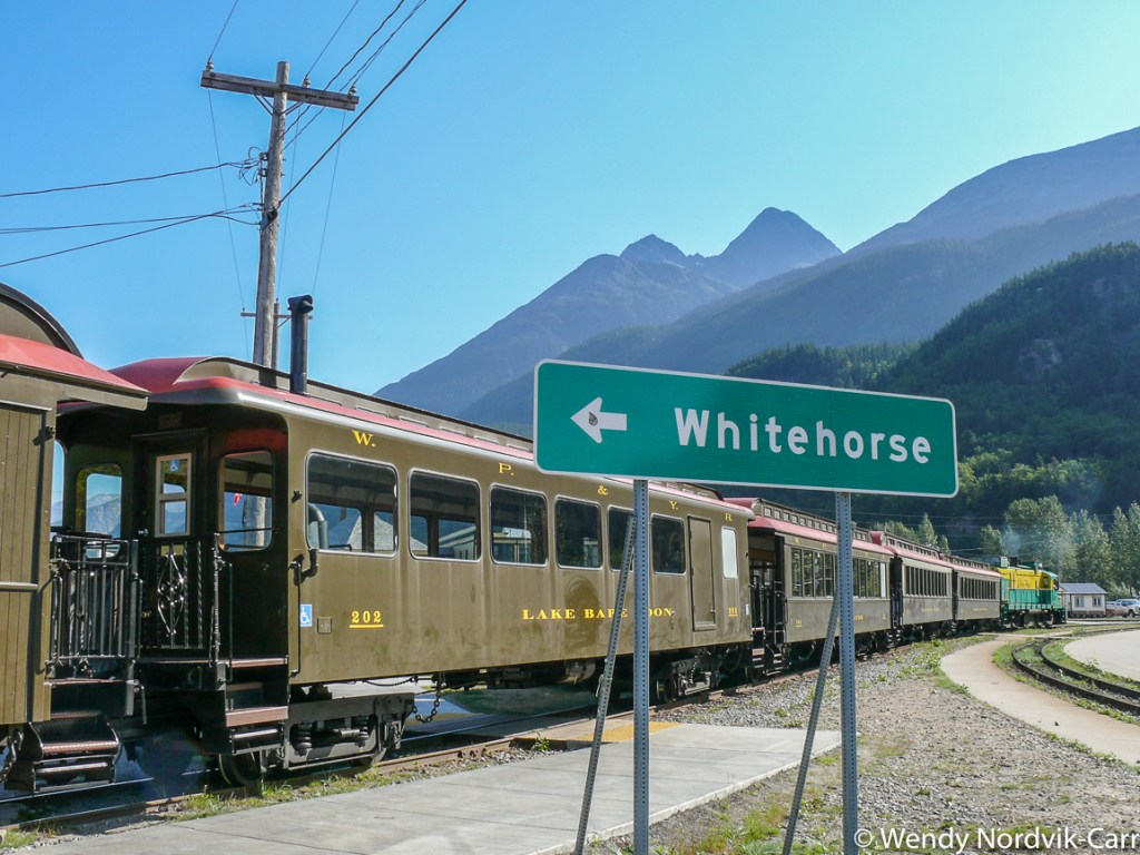 Take a ride on the famous White Pass Railway in Skagway. Discover the breathtaking scenery of Alaska wilderness. Explore top things to do while in port. Photo Credit: Wendy Nordvik-Carr©