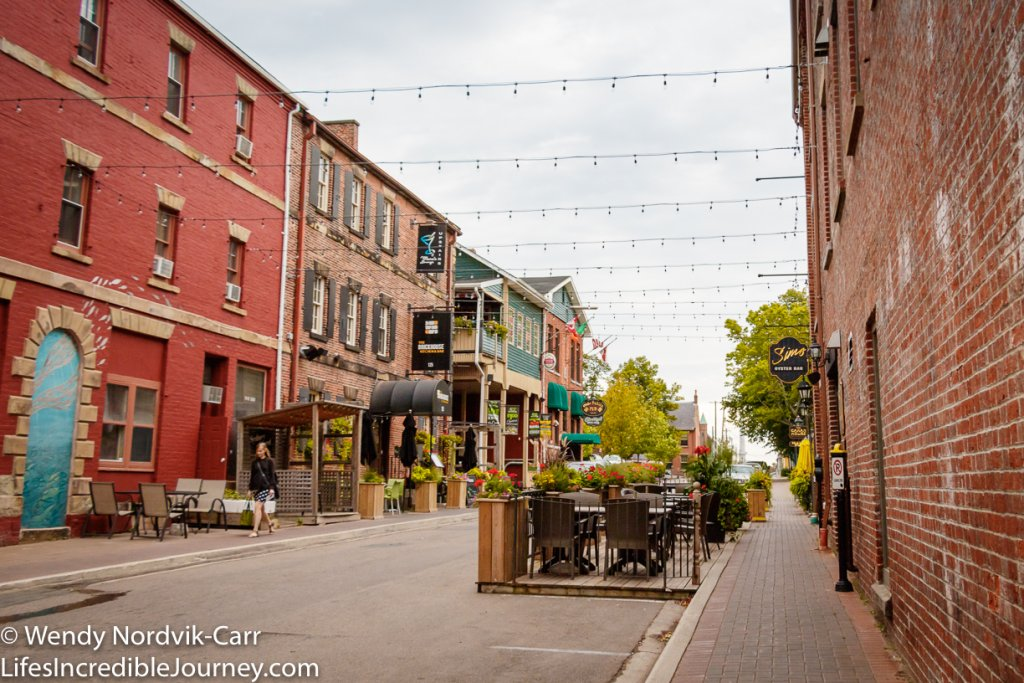 Top things to do in Charlottetown Prince Edward Island - Charlottetown's Sydney Street has historic buildings with shops and restaurants. This area is found between Great George and Queen Streets on Sydney. Photo Credit: Wendy Nordvik-Carr©