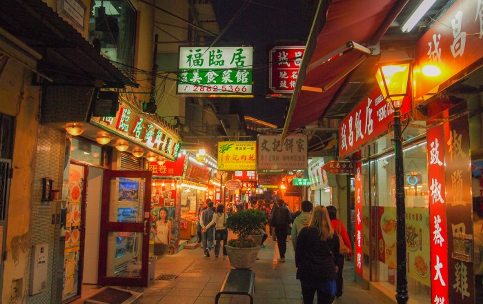 Taipa Island has a wonderful array of food and traditional Chinese shops to explore. Photo credit: Wendy Nordvik-Carr