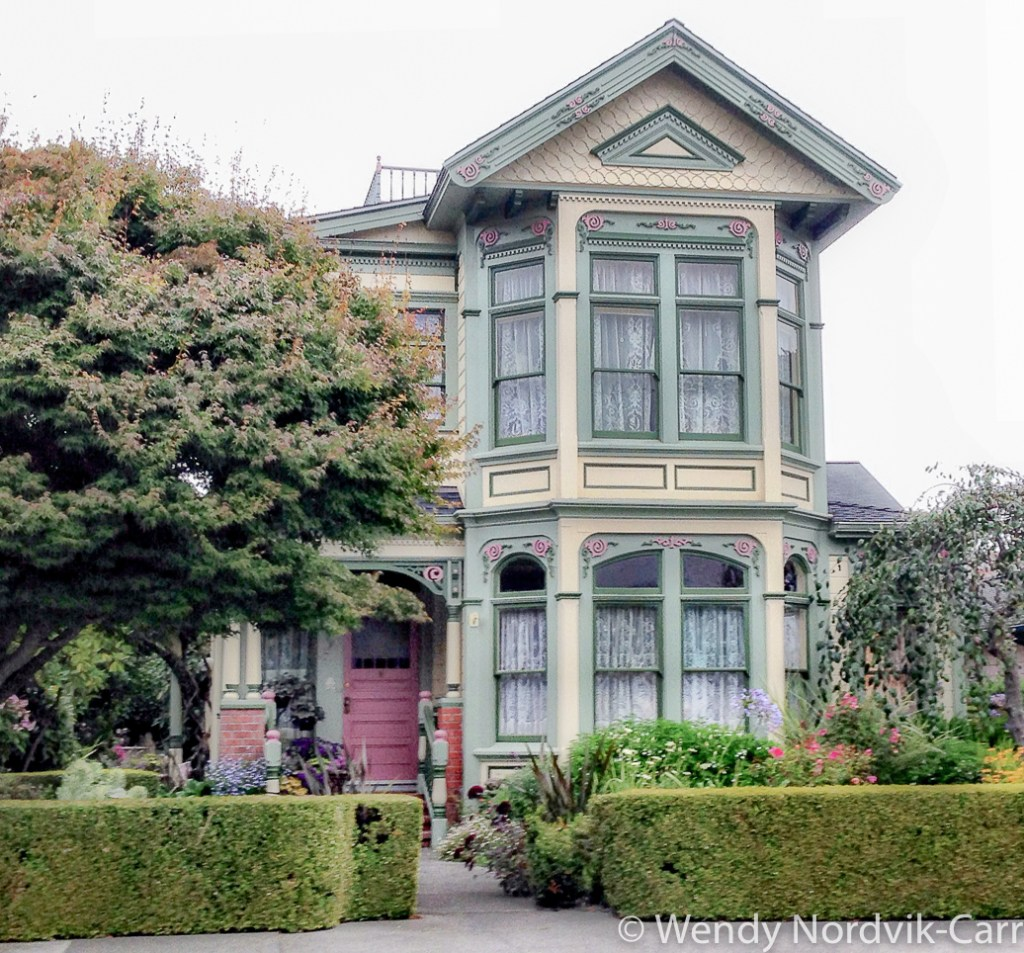 Victorian Houses in Ferndale, California