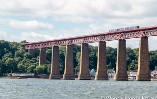 UNESCO Site - Forth Bridge, South Queensferry. Discover things to do in medieval Edinburgh. Explore Old Town and New Town along with the many museums, monument, memorials and galleries of this historic city. Photo Credit Wendy Nordvik-Carr