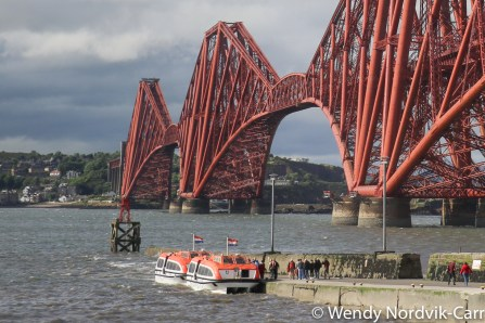 Famous UNESCO World Heritage Site in Scotland, Forth Bridge Photo Credit: Wendy Nordvik-Carr©