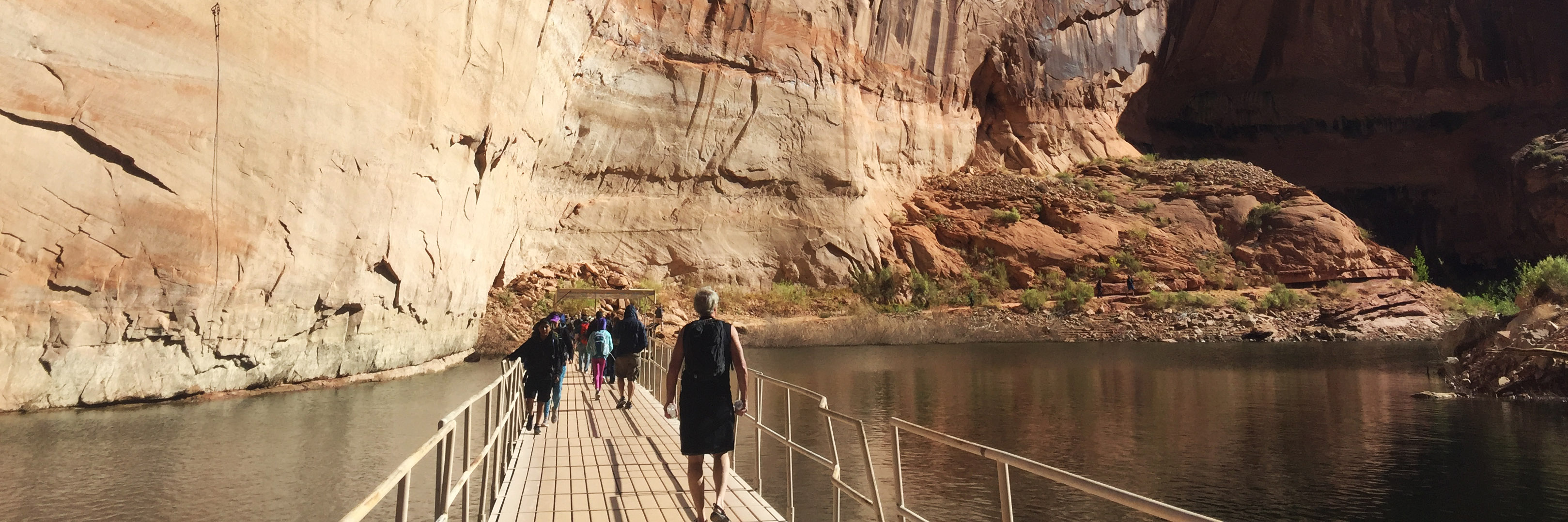 Join Life's Incredible Journey - Walkway through Glen Canyon to Rainbow Bridge, Utah, Arizona Photo Credit: Wendy Nordvik-Carr