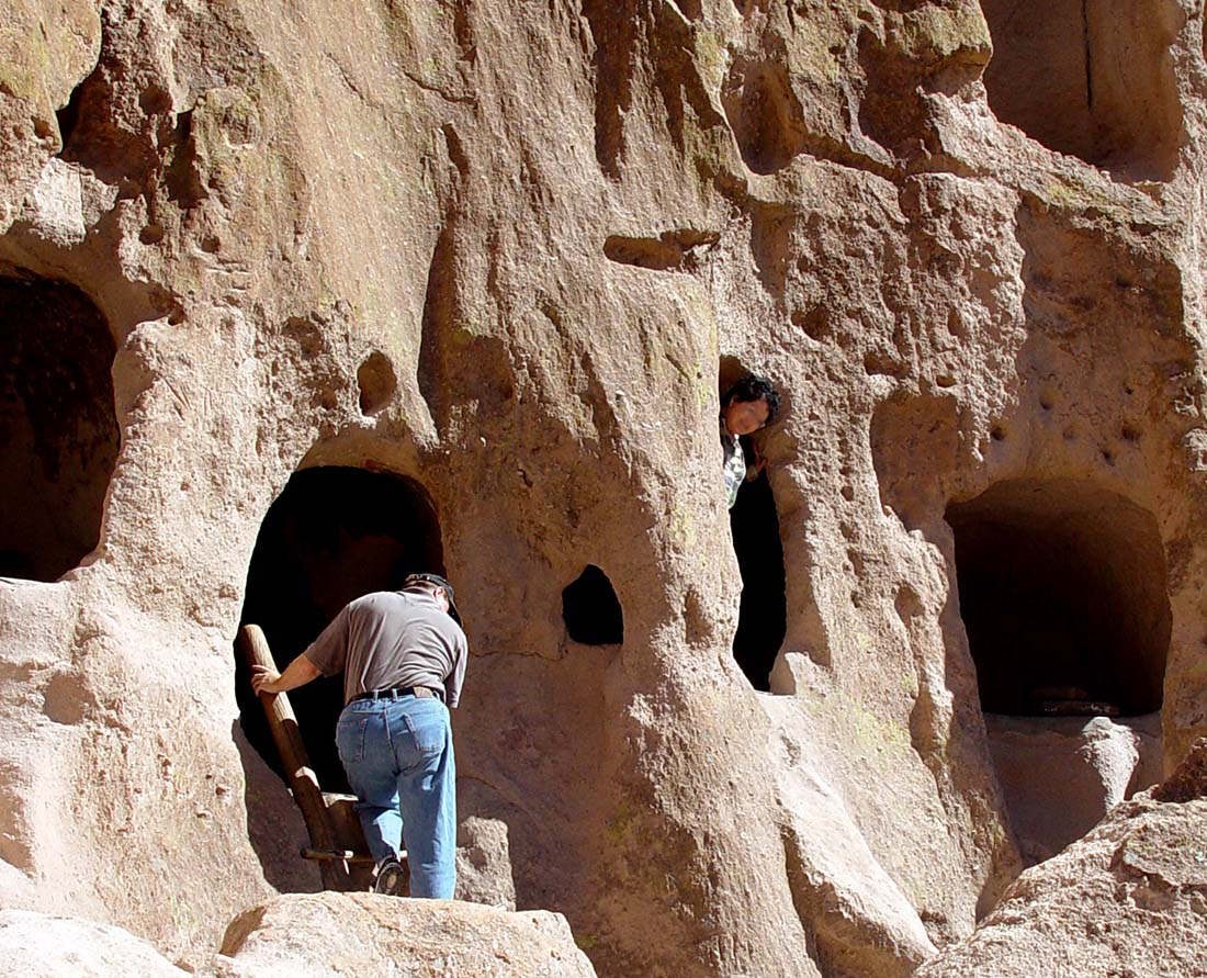 Bandelier National Monument is one of the top things to see near Santa Fe New Mexico. Photo: New Mexico True