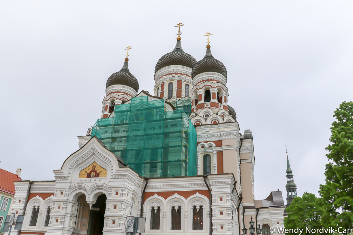 Visit the striking St. Alexander Nevsky Cathedral. There is plenty to discover in Tallin's Old Town. It is rich in medieval and Hanseatic history and is a designated UNESCO World Heritage Site. Photo Credit: Wendy Nordvik-Carr