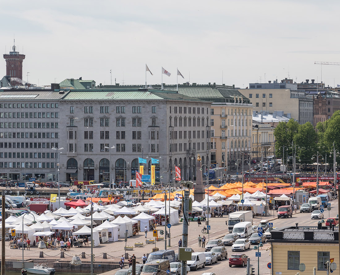Visit Market Square - Helsinki is part of the designated UNESCO Creative Cities Network. Here are the top things to do in Helsinki Finland a City of Design. Photo Credit: Wendy Nordvik-Carr©