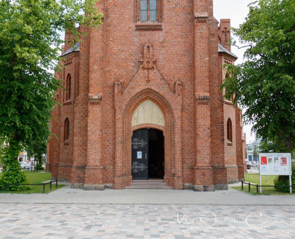 Historic neo Gothic style Warnemu%CC%88nde Church 364A1579 8