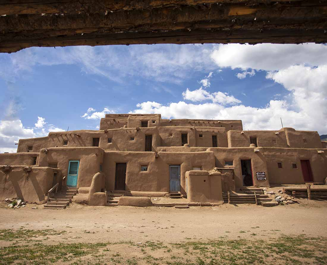 Taos Pueblo is one of the top things to see near Santa Fe New Mexico. Photo: New Mexico TRUE
