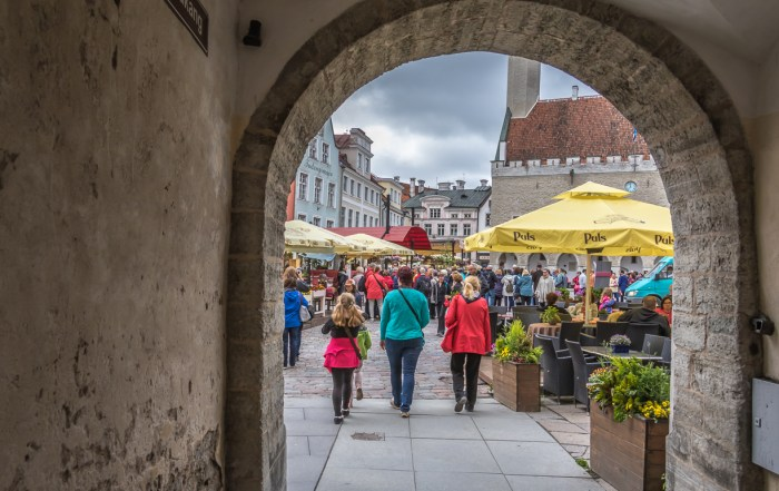 Top things to do in Tallinn - There is plenty to discover in Tallinn's Old Town. It is rich in medieval and Hanseatic history and is a designated UNESCO World Heritage Site. Photo Credit: Wendy Nordvik-Carr