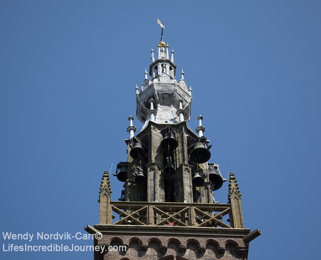 Listen for the bells of the leaning Carillon tower - Top things to do in Edam, Holland.