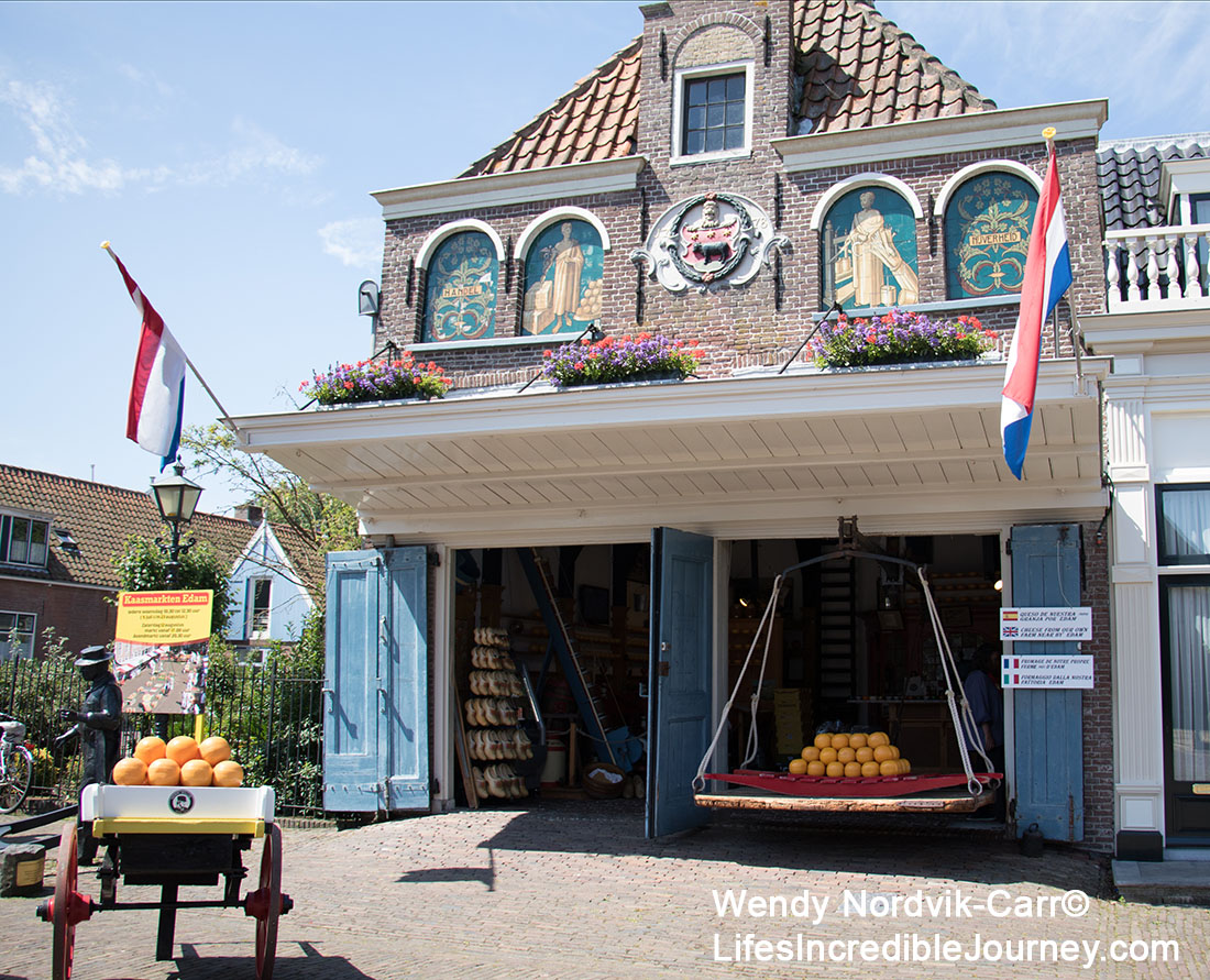 A visit to the Cheese Weigh House is one of the top things to do in Edam, North Holland. Photo Credit: Wendy Nordvik-Carr