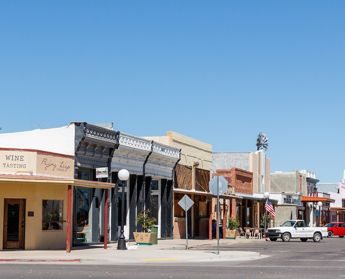Take a road trip to southwestern Arizona to Discover cowboys, wineries and birding in Willcox, Arizona. Photo Credit: Wendy Nordvik-Carr©