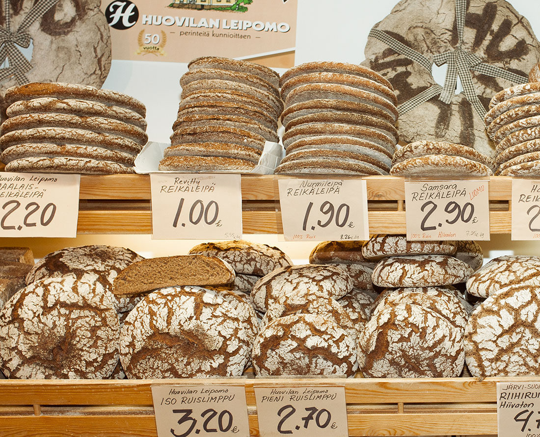 Rye Bread - Traditional Foods of Finland. Photo Credit: Elina Sirparantal, Visit Finland