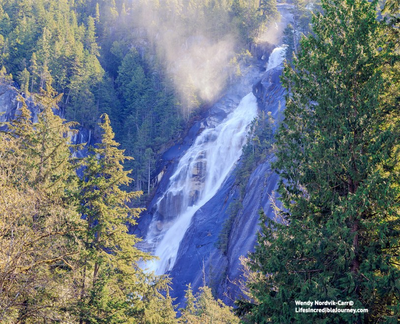 Spectacular Shannon Falls Best day trips from Vancouver. Photo Credit: Wendy Nordvik-Carr©