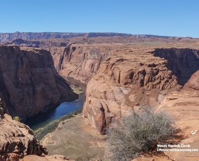 Stunning Horseshoe Bend near Lake Powell, Arizona. Photo Credit: Wendy Nordvik-Carr©