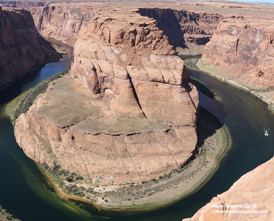 Stunning Horseshoe Bend near Lake Powell, Arizona. Photo Credit: Wendy Nordvik-Carr©