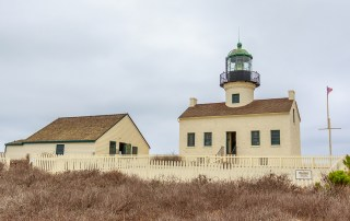 Discover the oldest lighthouse on the Pacific coast - Point Loma Lighthouse was one of the first lighthouses on the west coast. Visit San Diego's Cabrillo National Monument to learn about the history.